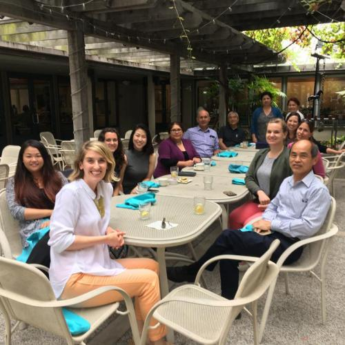 Farewell Lunch for Maria Ibarra