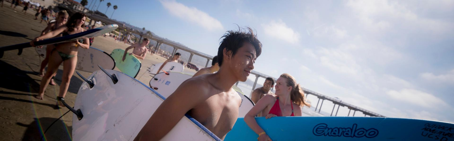 Surf with UCSD
